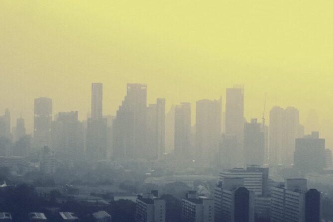 contaminación atmosférica aire
