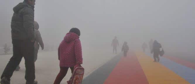 contaminación aire autismo