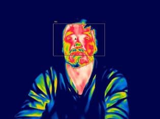 temperatura humana cámaras térmicas