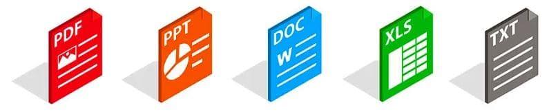 formato documentos herramienta buscador