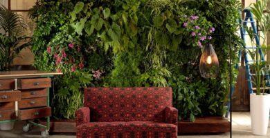 jardines verticales y muros vivos