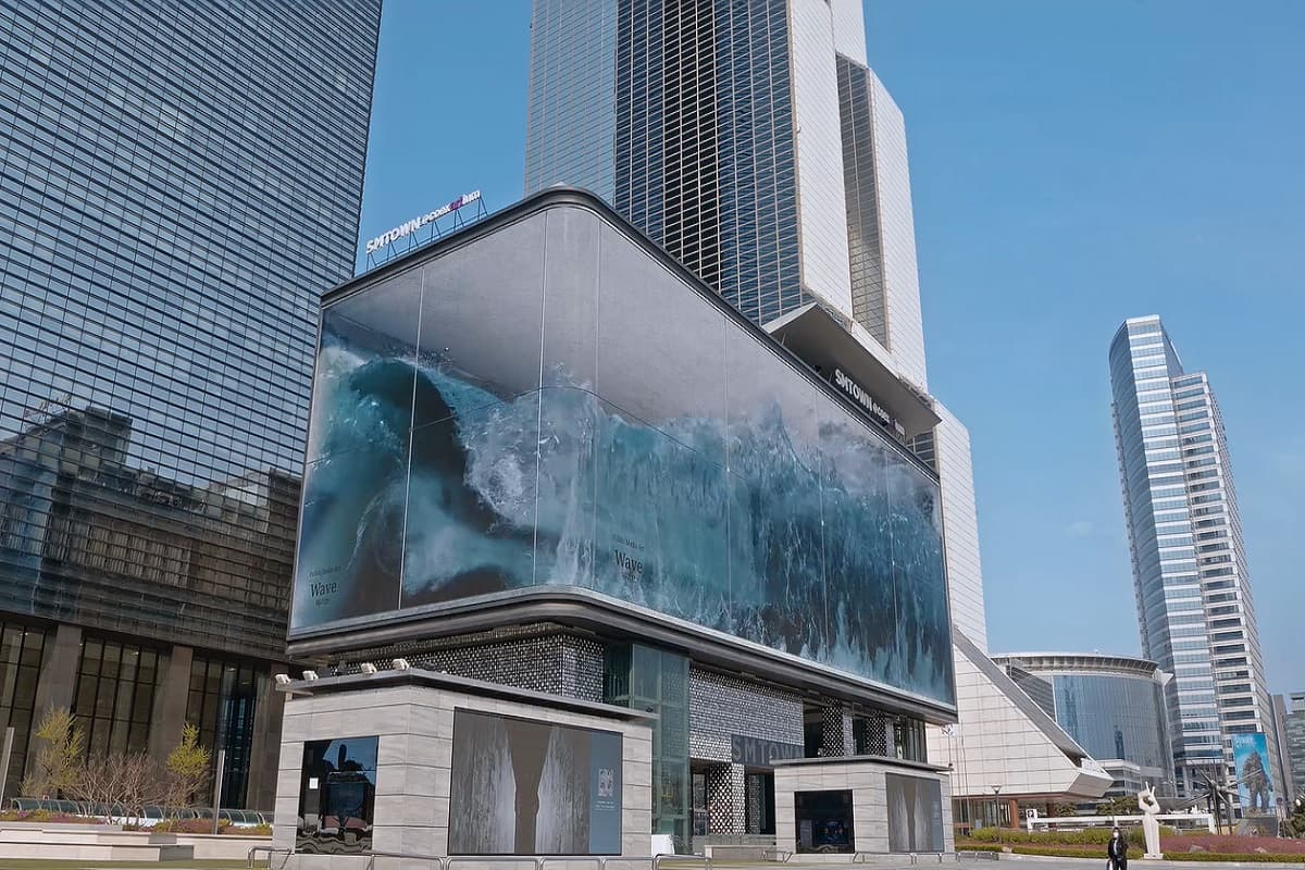 La ola gigante que se ha convertido en la mejor campaña publicitaria