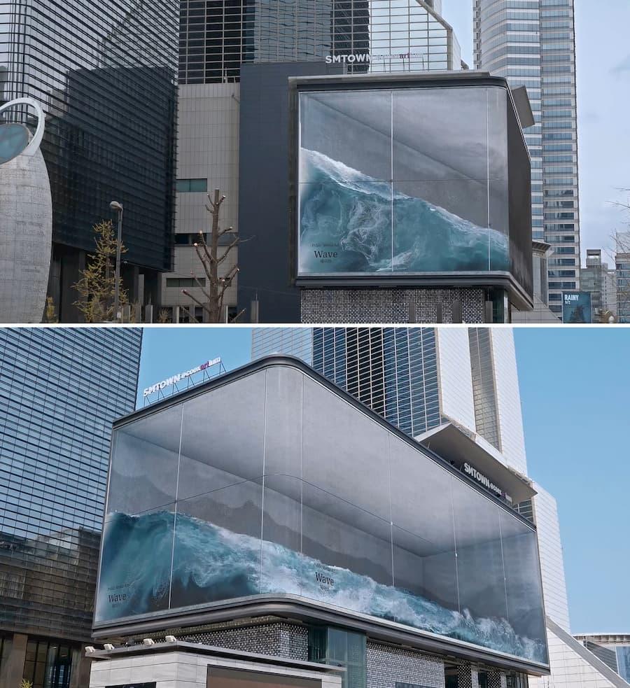 publicidad con tecnología led