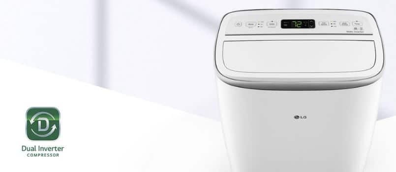 aire acondicionado portátil de bajo consumo