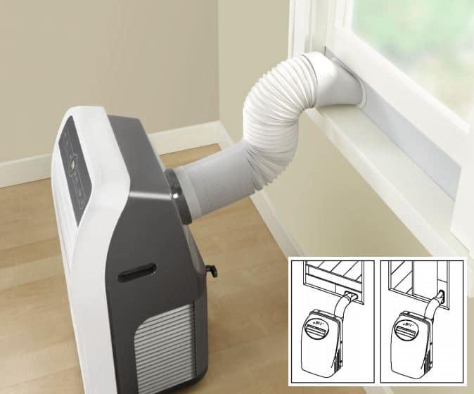 tube extensible aire acondicionado monoblock