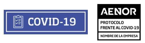 certificado aenor protocolo actuación covid 19