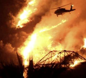 incendios por el cambio climático