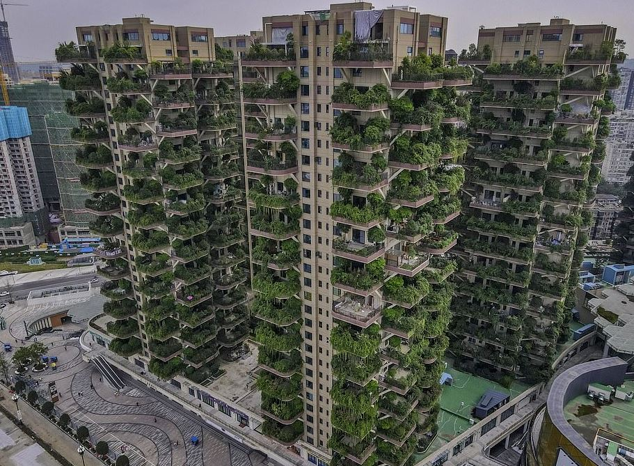 residencial ecológico verde
