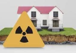 gas radón en casas