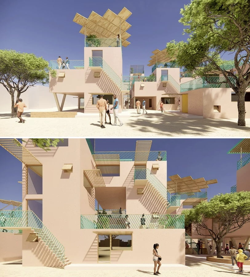 viviendas plástico reciclado prefabricada