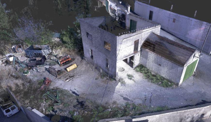 escaner 3d edificios con laser