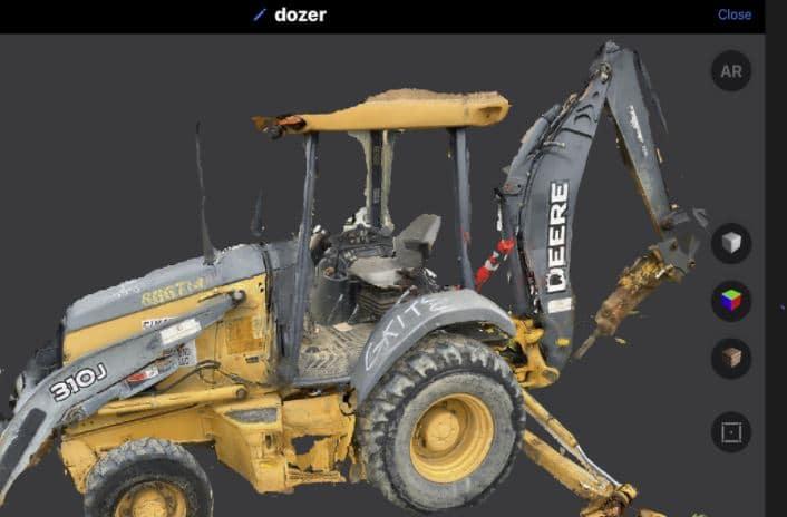escáner objetos en 3d