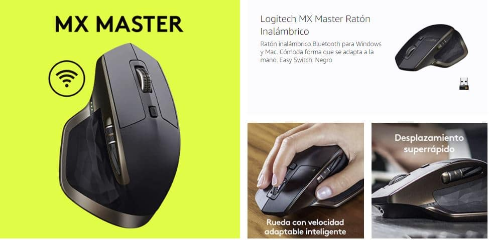 ratón inalámbrico Logitech