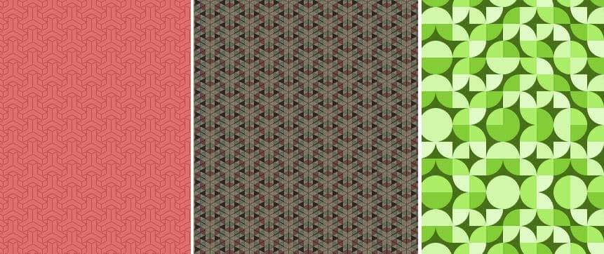 texturas geométricas para dibujo