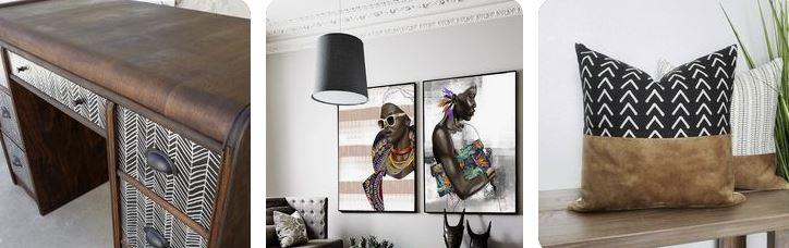 decoración étnica para casa