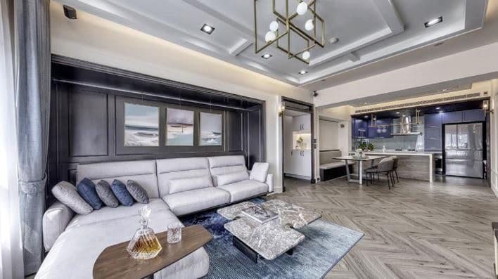 estilo clásico en la decoración de casa
