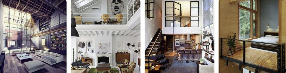 estilo loft en decoración
