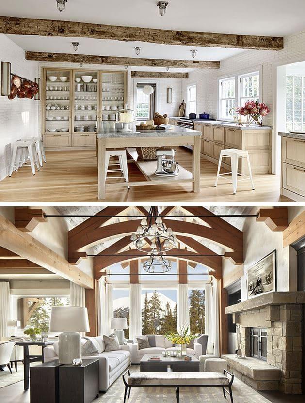 estilo rústico en diseño de interiores