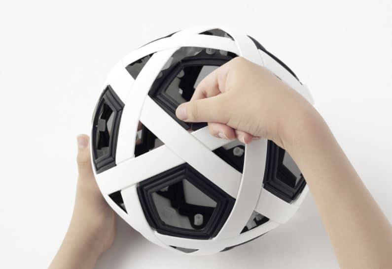 balón futbol diseño industrial