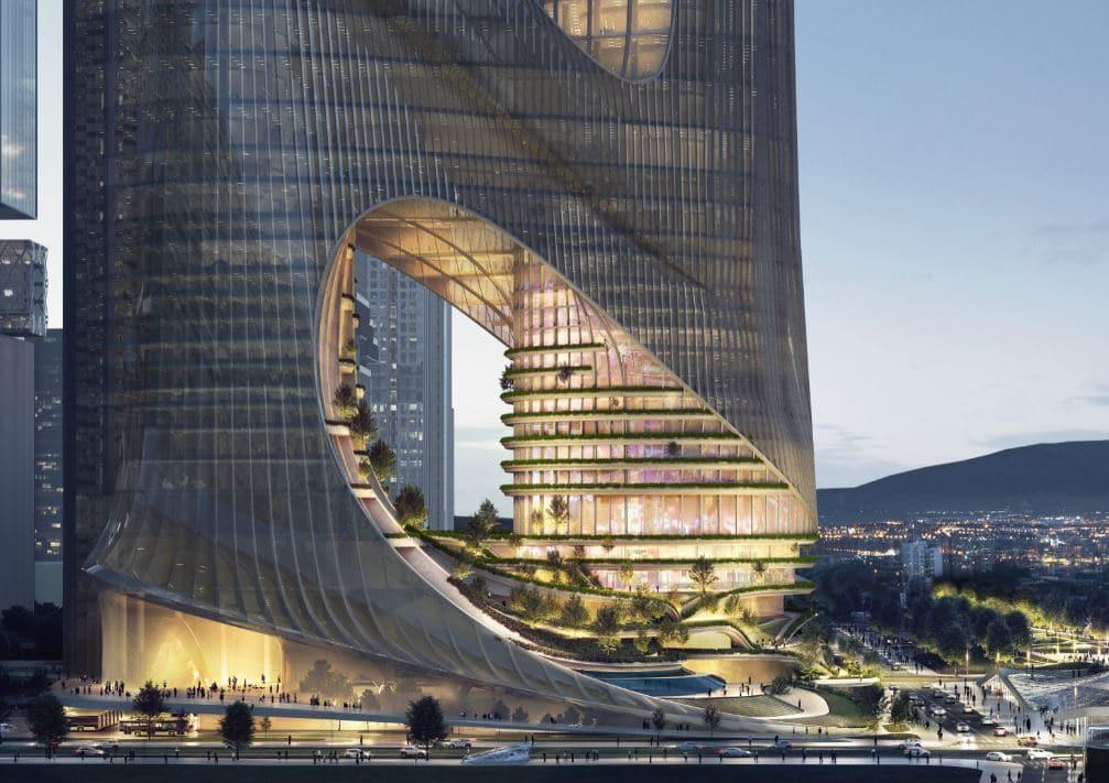 construcción edificio zaha hadid arquitectos