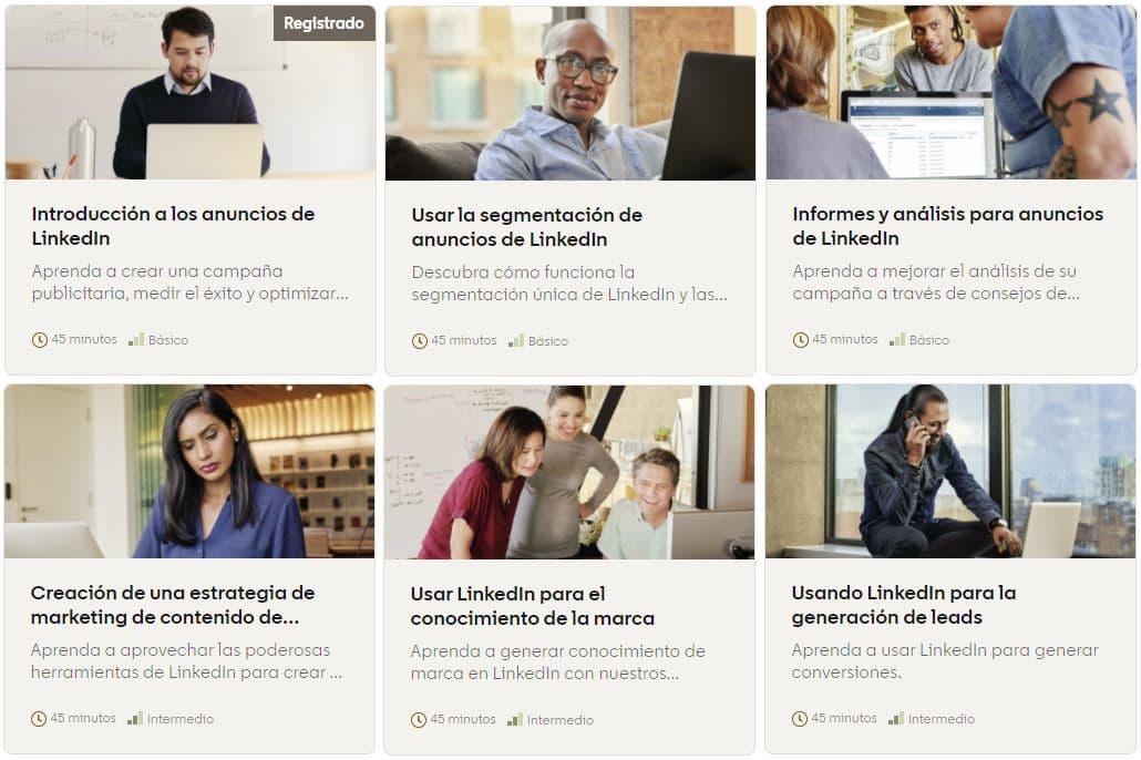 curso linkedin profesional para empresas