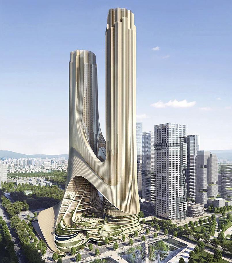edificio torre C zaha hadid arquitectos
