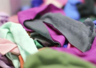 residuos textiles fabricas