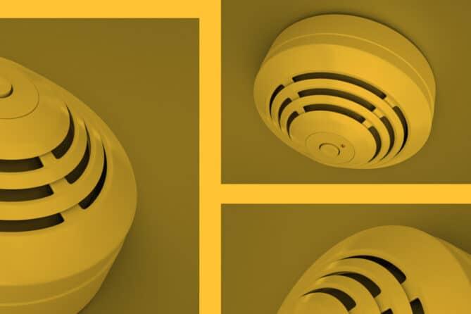 alarmas y detectores contra incendios