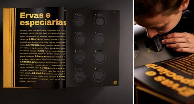 libro cocina con aromas