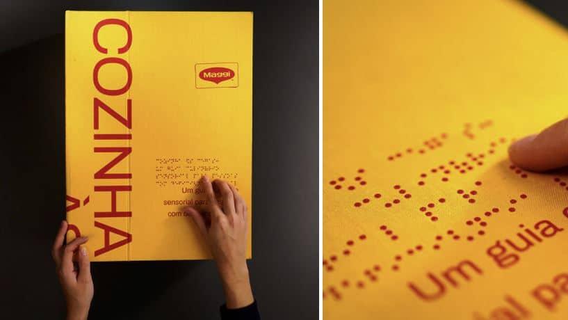 libro para personas ciegas