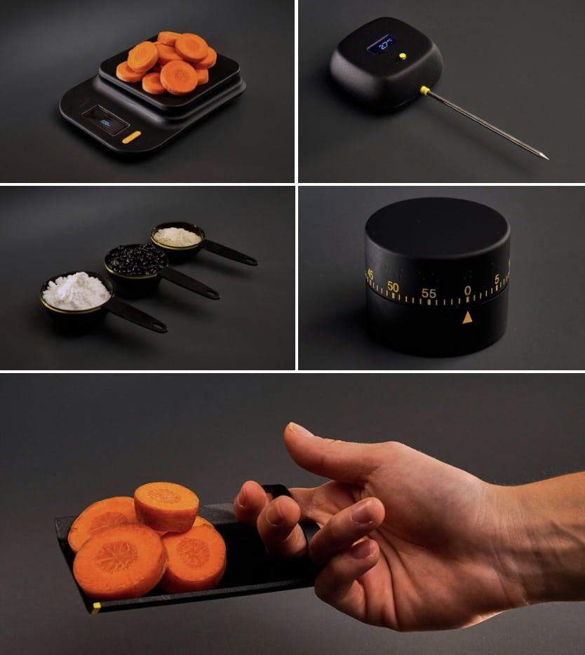 utensilios cocina para ciegos e invidentes