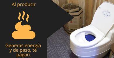 producir energía con el inodoro
